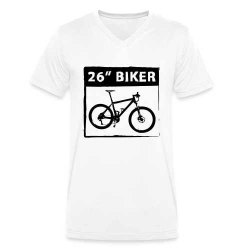 26 Biker - 1 Color - Männer Bio-T-Shirt mit V-Ausschnitt von Stanley & Stella