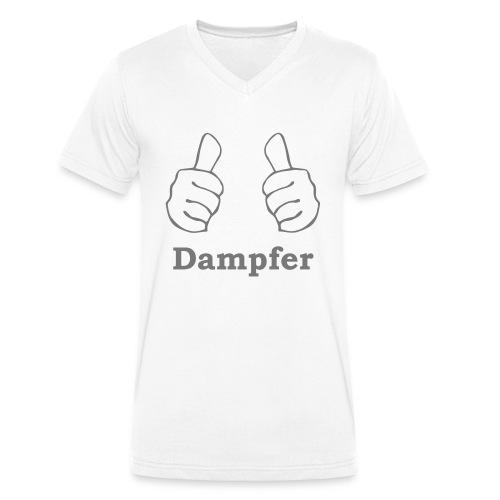 thumbs up Dampfen - Männer Bio-T-Shirt mit V-Ausschnitt von Stanley & Stella