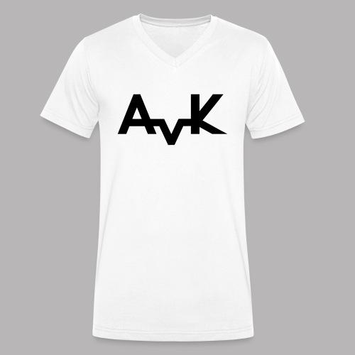 Basic AvK Shirt - Männer Bio-T-Shirt mit V-Ausschnitt von Stanley & Stella