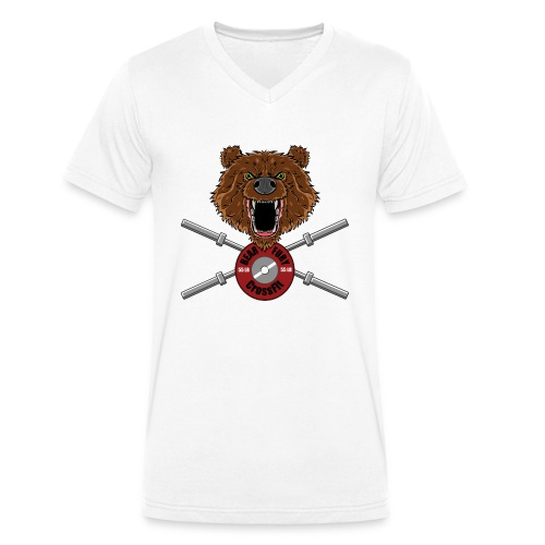Bear Fury Crossfit - T-shirt bio col V Stanley & Stella Homme