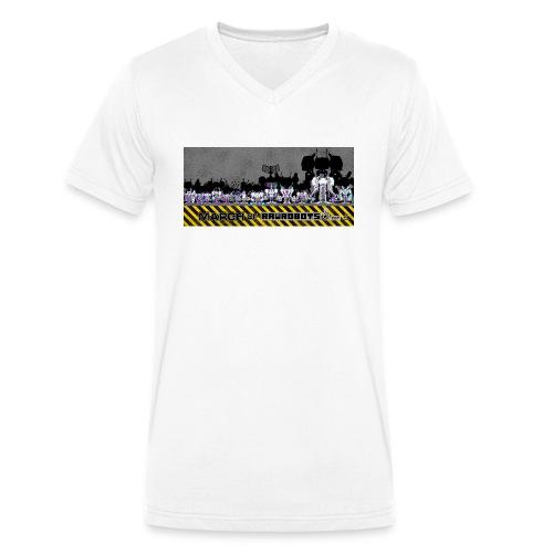 #MarchOfRobots ! LineUp Nr 2 - Økologisk Stanley & Stella T-shirt med V-udskæring til herrer