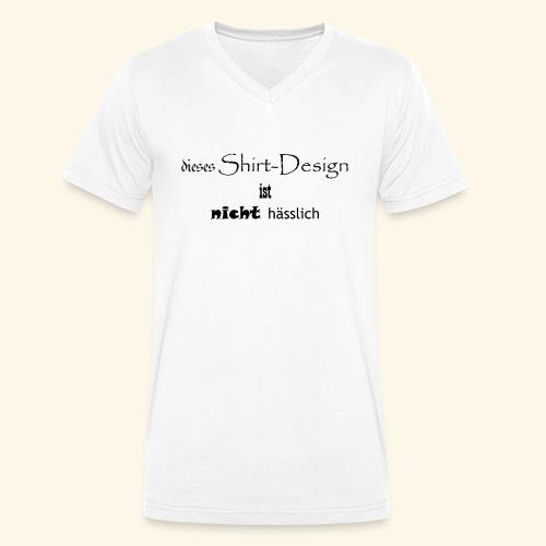 test_shop_design - Männer Bio-T-Shirt mit V-Ausschnitt von Stanley & Stella