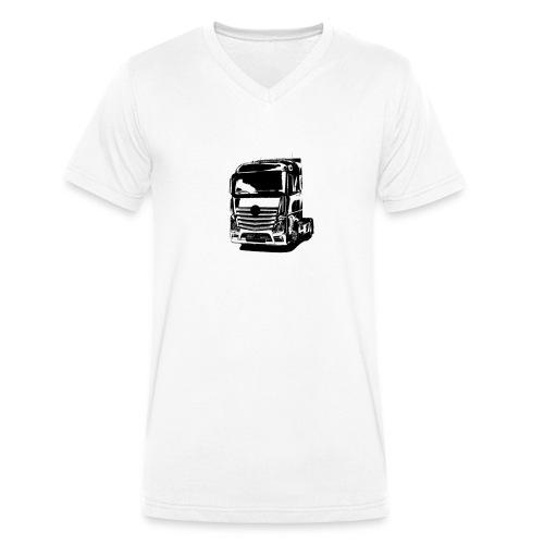 Actross - Männer Bio-T-Shirt mit V-Ausschnitt von Stanley & Stella