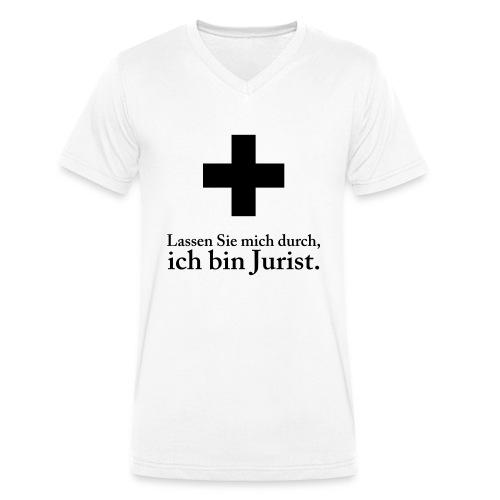 nofalljurist - Männer Bio-T-Shirt mit V-Ausschnitt von Stanley & Stella