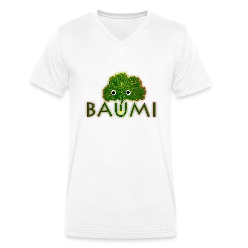 Baumi - Männer Bio-T-Shirt mit V-Ausschnitt von Stanley & Stella