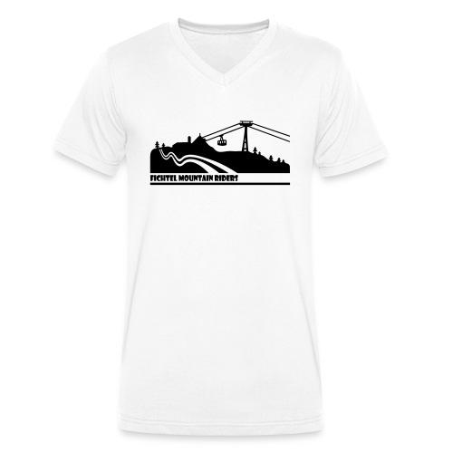 Fichtel Mountain Riders - Männer Bio-T-Shirt mit V-Ausschnitt von Stanley & Stella