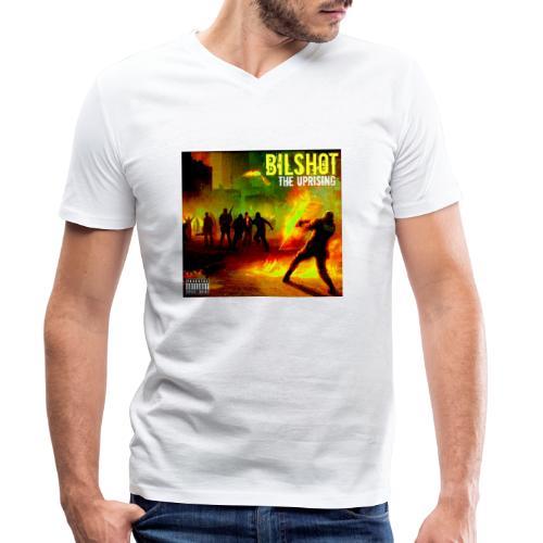 Bilshot - The Uprising - Men's Organic V-Neck T-Shirt by Stanley & Stella