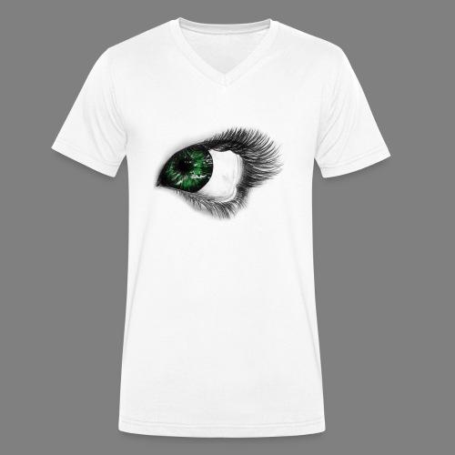 Auge 1 - Männer Bio-T-Shirt mit V-Ausschnitt von Stanley & Stella