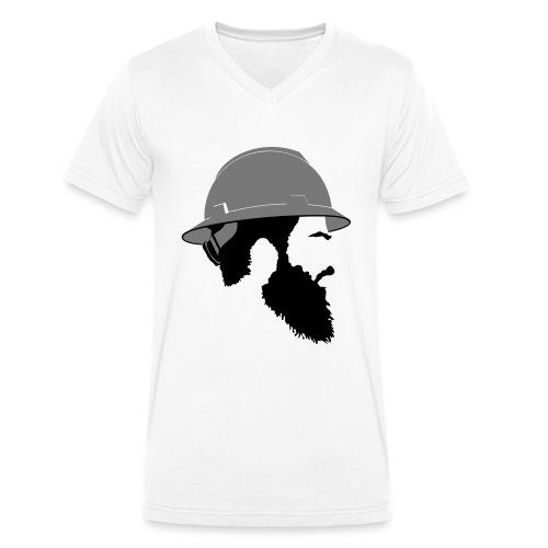Brent - Økologisk Stanley & Stella T-shirt med V-udskæring til herrer