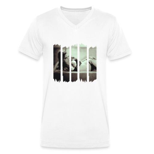 women - Männer Bio-T-Shirt mit V-Ausschnitt von Stanley & Stella