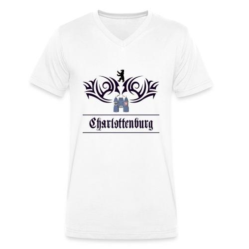 charlottenburg_tribal - Männer Bio-T-Shirt mit V-Ausschnitt von Stanley & Stella