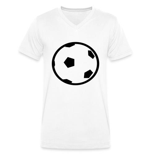 Unterwasser-Rugby Ball - Männer Bio-T-Shirt mit V-Ausschnitt von Stanley & Stella