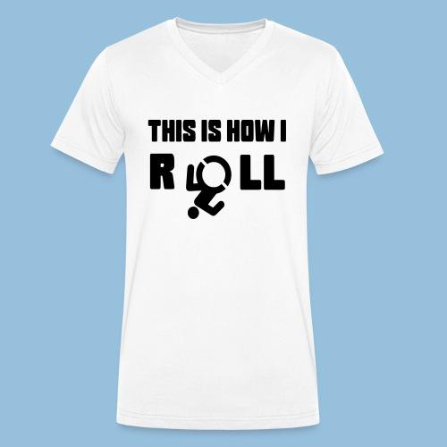 This is how i roll 007 - Mannen bio T-shirt met V-hals van Stanley & Stella