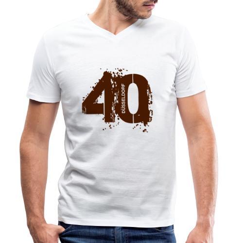 City_40_Düsseldorf - Männer Bio-T-Shirt mit V-Ausschnitt von Stanley & Stella