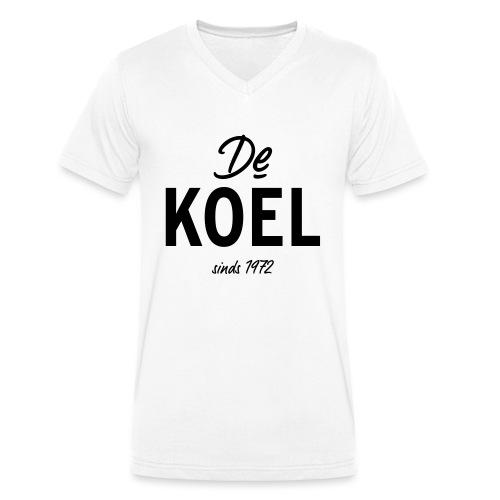 De Koel - Mannen bio T-shirt met V-hals van Stanley & Stella