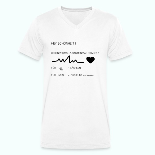 schönheit ve 1702410_1333 - Männer Bio-T-Shirt mit V-Ausschnitt von Stanley & Stella