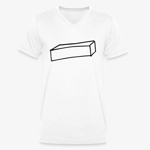 Cube allongé - T-shirt bio col V Stanley & Stella Homme