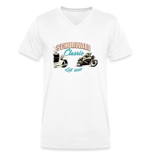 Schurwald Classic 2017 - Männer Bio-T-Shirt mit V-Ausschnitt von Stanley & Stella