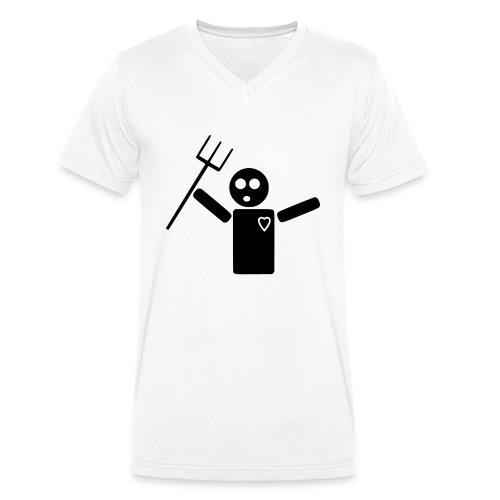 Zombie Dance - Männer Bio-T-Shirt mit V-Ausschnitt von Stanley & Stella