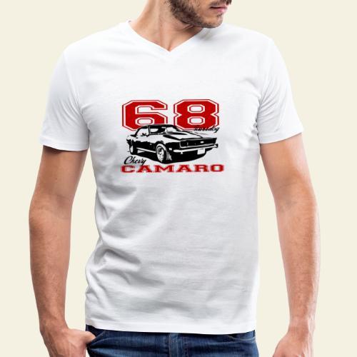 68 camaro sixty eight - Økologisk Stanley & Stella T-shirt med V-udskæring til herrer