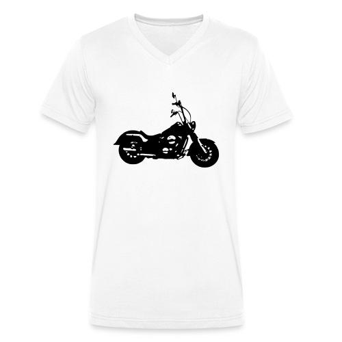 Bad Steel - Männer Bio-T-Shirt mit V-Ausschnitt von Stanley & Stella