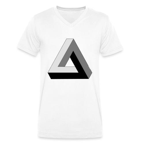 Penrose Dreieck - Männer Bio-T-Shirt mit V-Ausschnitt von Stanley & Stella