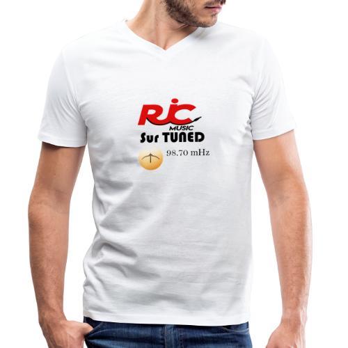 RJC sur TUNED - T-shirt bio col V Stanley & Stella Homme