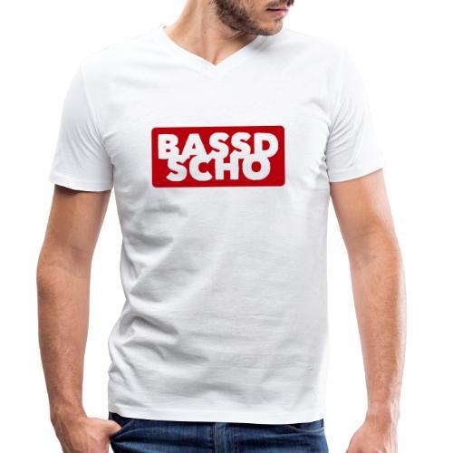 BASSD SCHO - Männer Bio-T-Shirt mit V-Ausschnitt von Stanley & Stella