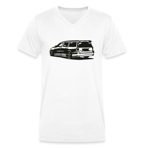 volvo_v70iis - Männer Bio-T-Shirt mit V-Ausschnitt von Stanley & Stella