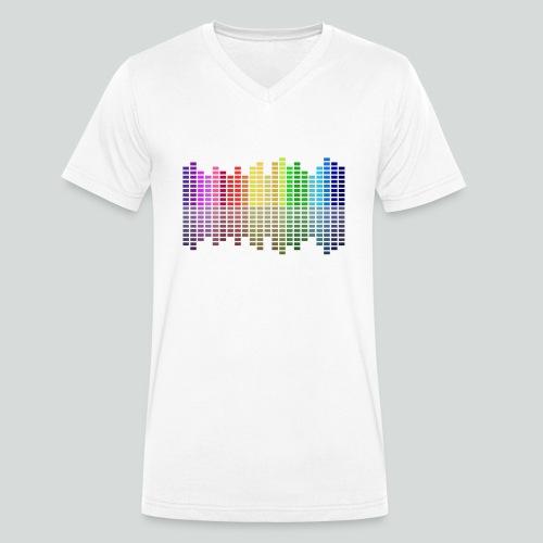 Farbequalizer - Männer Bio-T-Shirt mit V-Ausschnitt von Stanley & Stella