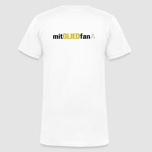 Mitgliedfan - Männer Bio-T-Shirt mit V-Ausschnitt von Stanley & Stella