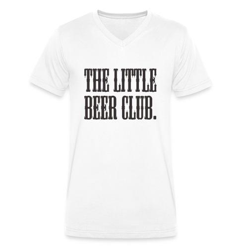 The Little Beer Club. Grey T Shirt - Men's Organic V-Neck T-Shirt by Stanley & Stella