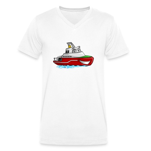 Boaty McBoatface - Men's Organic V-Neck T-Shirt by Stanley & Stella