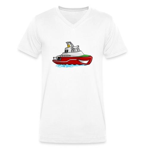 Boaty McBoatface - Men's Organic V-Neck T-Shirt by Stanley & Stella