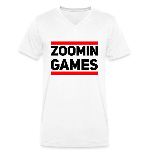 9815 2CRUN ZG - Men's Organic V-Neck T-Shirt by Stanley & Stella