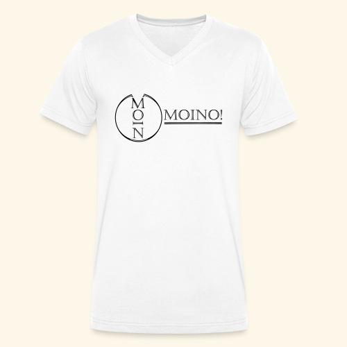 Moino! Long Shaped Shirt - Männer Bio-T-Shirt mit V-Ausschnitt von Stanley & Stella
