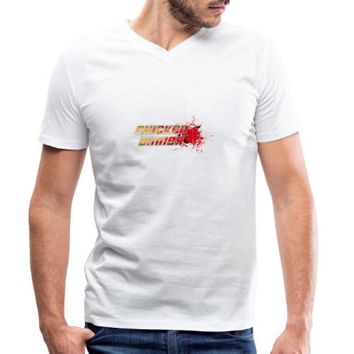 Chicken Dinner - Männer Bio-T-Shirt mit V-Ausschnitt von Stanley & Stella