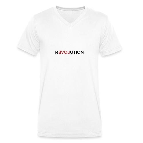 Revolution - Männer Bio-T-Shirt mit V-Ausschnitt von Stanley & Stella