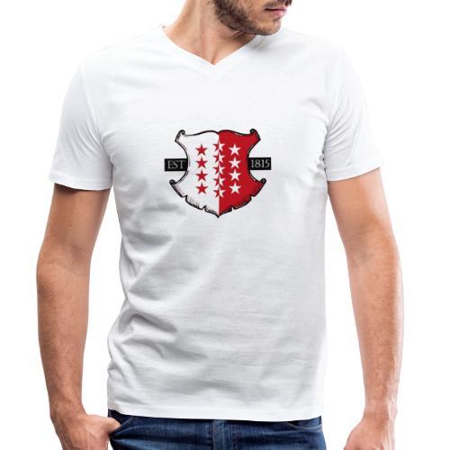 Valais est. 1815 - Männer Bio-T-Shirt mit V-Ausschnitt von Stanley & Stella