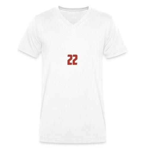 t-shirt zaniolo Roma - T-shirt ecologica da uomo con scollo a V di Stanley & Stella