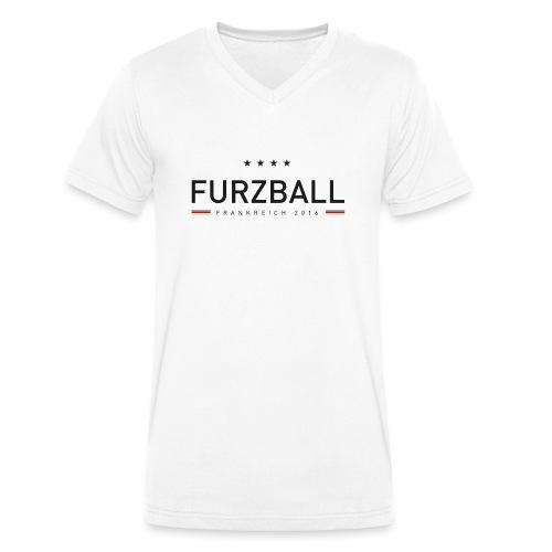 Furzball - Männer Bio-T-Shirt mit V-Ausschnitt von Stanley & Stella
