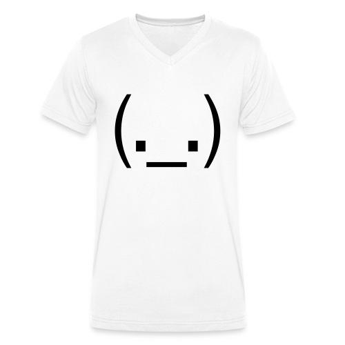 EGGHEAD - Men's Organic V-Neck T-Shirt by Stanley & Stella
