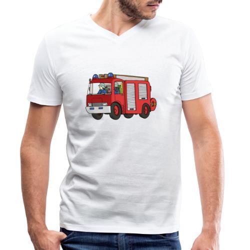 Engine 7 - Männer Bio-T-Shirt mit V-Ausschnitt von Stanley & Stella