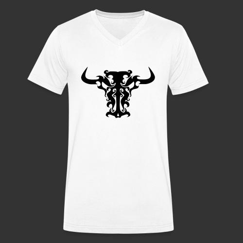 Bull - Männer Bio-T-Shirt mit V-Ausschnitt von Stanley & Stella