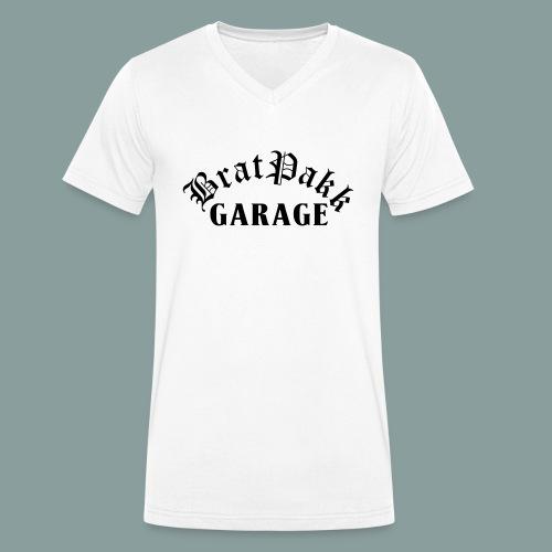 bratpakk_garage-eps - Ekologisk T-shirt med V-ringning herr från Stanley & Stella