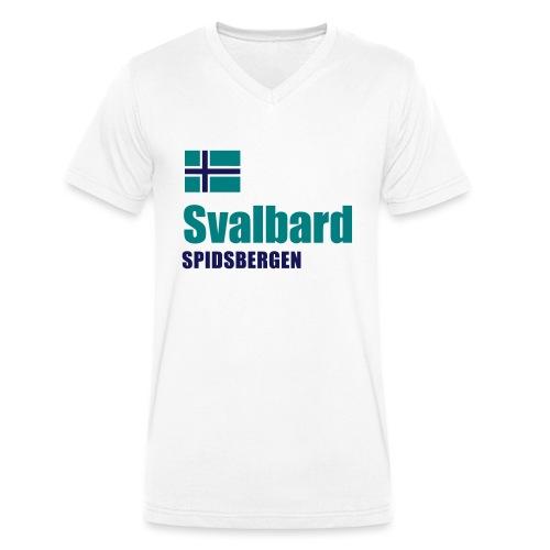 Spitzbergen Expedition - Survival Shirt - Männer Bio-T-Shirt mit V-Ausschnitt von Stanley & Stella
