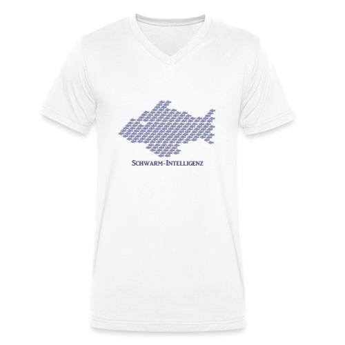 Schwarmintelligenz (Premium Shirt) - Männer Bio-T-Shirt mit V-Ausschnitt von Stanley & Stella