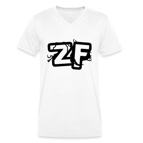 Zckrfrk BLACK Edition - Männer Bio-T-Shirt mit V-Ausschnitt von Stanley & Stella