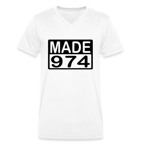 Made 974 - v2 - T-shirt bio col V Stanley & Stella Homme