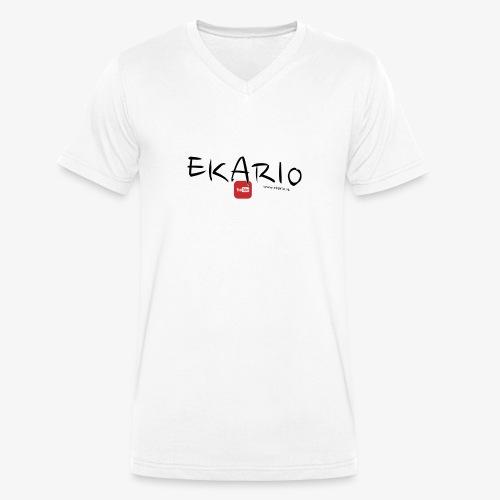 EKARIO - T-shirt ecologica da uomo con scollo a V di Stanley & Stella